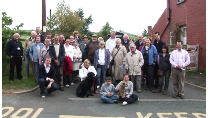 Walmsley weekend group photo