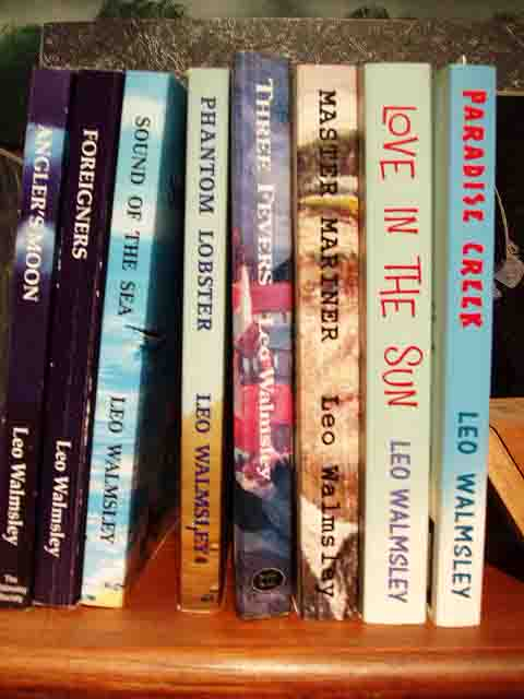 Some Walmsley book spines