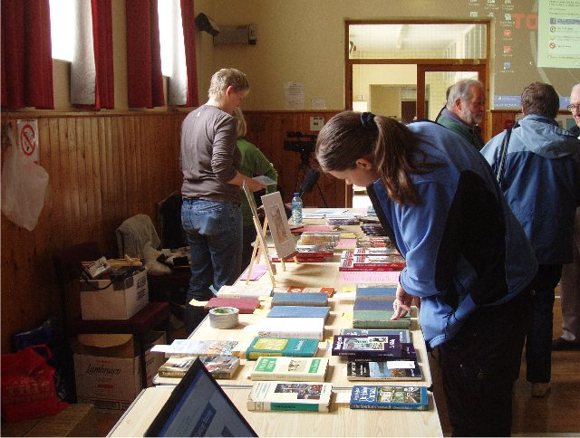 The busy book sales table