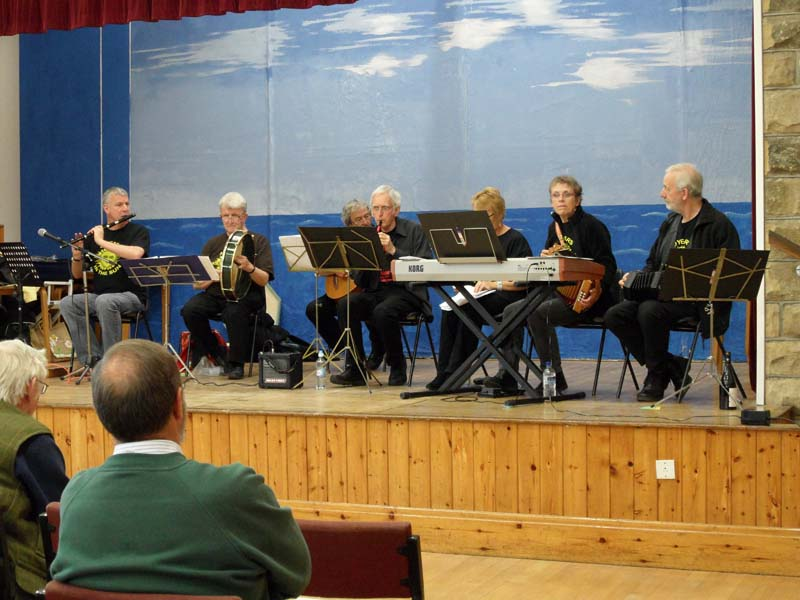 The Otterby Band in action