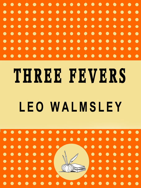 Three Fevers kindle edition, holding cover