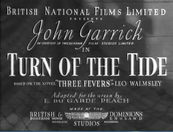 Turn of the Tide title frame