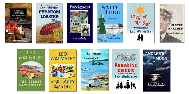 All 11 newly-republished Walmsley book covers