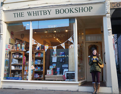 The Whitby Bookshop's premises on Church St. Whitby